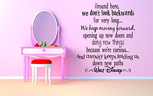 Wall Room Decor Art Vinyl Sticker Mural Decal Famous Popular Cartoon Maker Quote Motivational Poster Phrase Kids Bedroom Boy Girl Nursery (Phrase Maker)