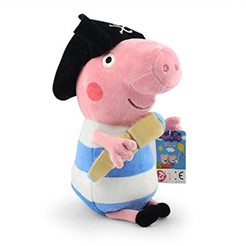 Andy Candy Peppa Pig Pirate George Plush Doll 30cm Kid Toys