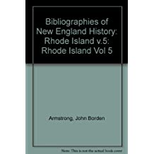 Rhode Island: A Bibliography of Its History