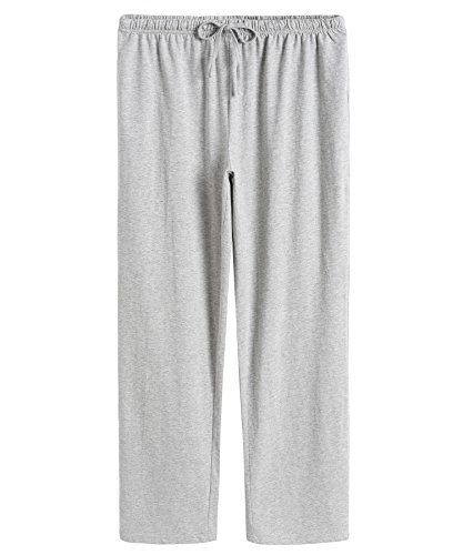 Latuza Women's Cotton Pajama Pants L Light (Light Cotton Pants)