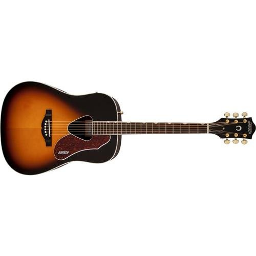 Gretsch Guitars G5024E Rancher Dreadnought Acoustic-Electric Guitar Sunburst