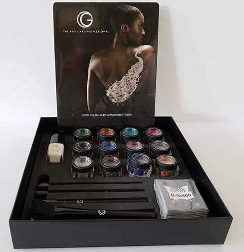 ''G'' The Body Art Professional ~ Essential Pro Kit ~ Glitter Body Tattoo by G The Body Art Professional