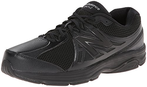 New Balance Men's MW847V2 Walking Shoe,Black,10 D US