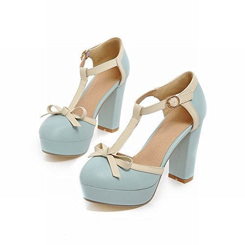 Carol Femme Salomé Shoes Carol Bleu Shoes T7SqPFazT