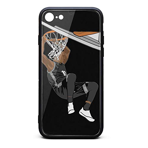 3D Phone Cases for iPhone 6/6s,6 Plus/6s Plus,7/8 Non-Slip Shockproof Ultra Slim Stylish Transparent Tempered Glass Back Covers Durable PC TPU Scratch Resistant Shock Absorption Glossy
