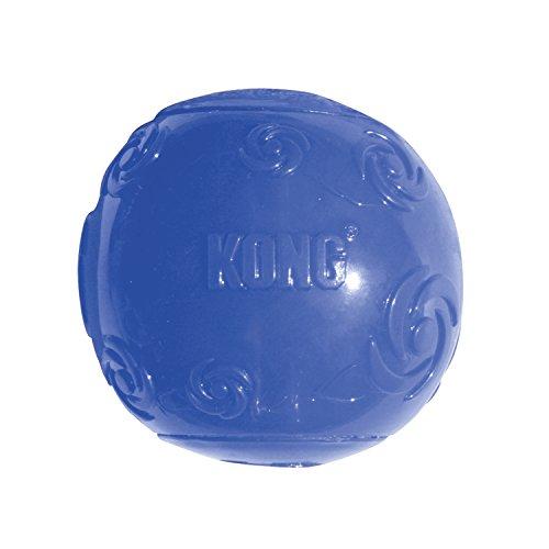 KONG Squeezz Ball Dog Toy, Medium, Colors Vary (Kong Balls Air Dog)