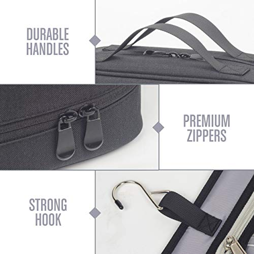LVLY Hanging Travel Toiletry Bag for Women and Men