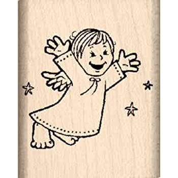 Stamps By Impression Angel Rubber Stamp