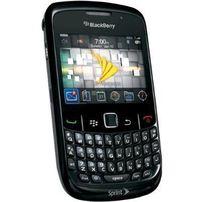 amazon com sprint cdma blackberry curve 8530 black cell phones rh amazon com