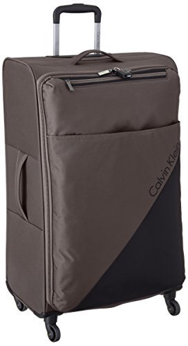 Calvin Klein Chelsea 29 Inch Upright Suitcase, Tobacco, One Size by Calvin Klein