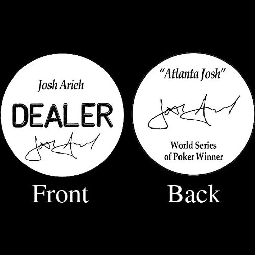 Trademark Josh Arieh Professional Collector's Dealer Button