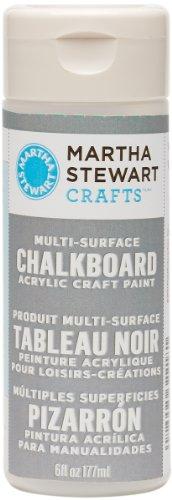 Martha Stewart Multi-Surface Chalkboard Paint: Gray, 6 (Best Gray Paint)
