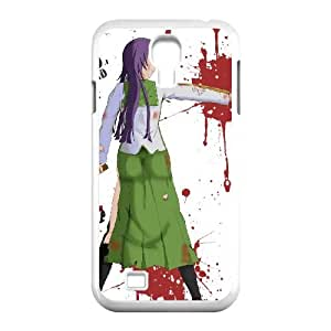 Samsung Galaxy S4 9500 Cell Phone Case White HIGHSCHOOL OF THE DEAD V8382037