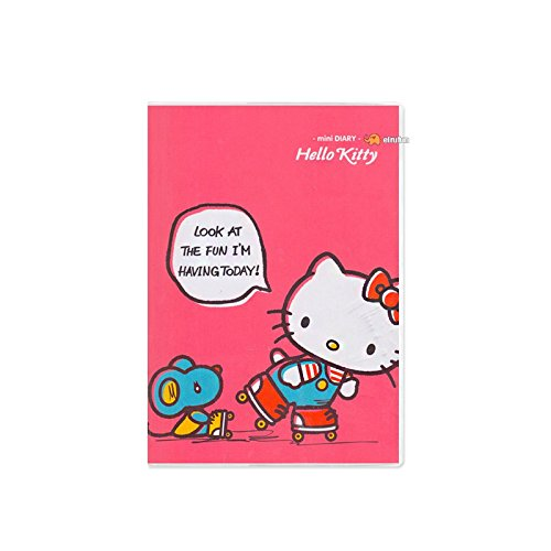 Sanrio Hello Kitty Sweet Kitty Small Diary Scheduler Planner (Pink)