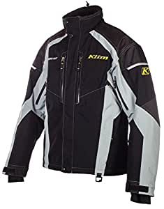 Klim Vector Parka Men's Ski Snowmobile Jacket - Black / 2X-Large