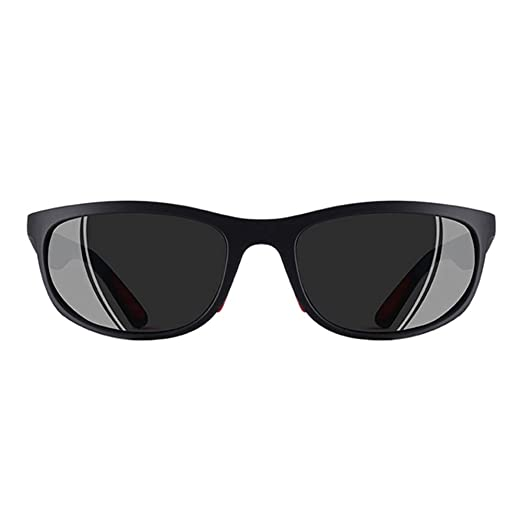 4cbd5f2c9fe Polarized sport sunglasses for men-matte black frame wayfarer sunglasses  for men driving sunglases for