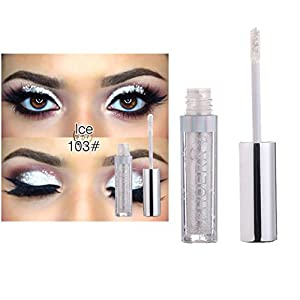 Creazy 12 Color PHOERA Magnificent Metals Glitter and Glow Liquid Eyeshadow (C)