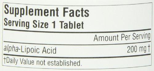 SOURCE NATURALS Alpha Lipoic Acid 200 Mg Tablet 120 Count Discount