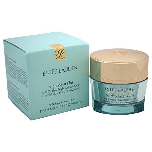 - Estee Lauder Women's Nightwear Plus Anti-Oxidant Night Detox Creme, All Skin Types, 1.7 Ounce