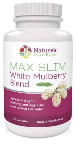 MAX SLIM Pure White Mulberry Extract 500mg (Best Blend