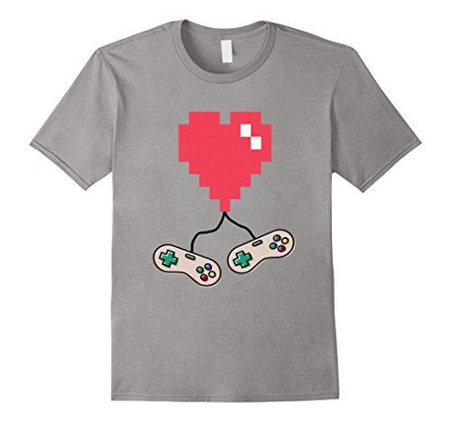 Old School 8-Bit Video Game Valentines Day - Heart Bit 8