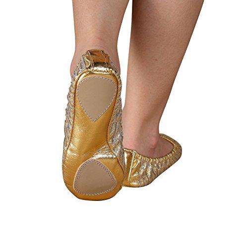 Praxis Gold Tanz Brightup Schuhe Golden BPy5yRq