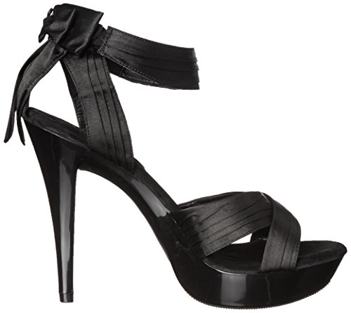 Favolosa Donna Cocktail 568 Platform Sandalo Nero