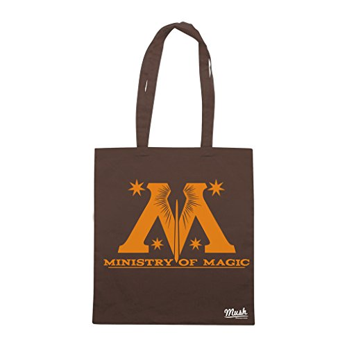 Borsa MINISTERO DELLA MAGIA HARRY POTTER - Marrone - FILM by Mush Dress Your Style