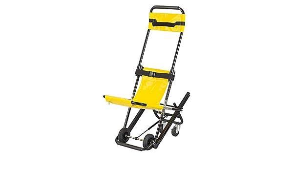 DELOVE Silla de Escalera, evacuación de Bomberos de Ambulancia Silla de Escalera de elevación médica, Silla EVAC +, operación Individual de 300 h, Capacidad de 400 LB: Amazon.es: Hogar