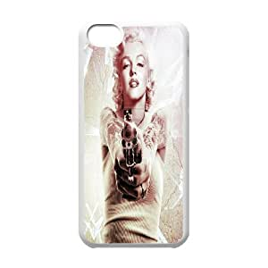 [bestdisigncase] For Iphone 5c -Marilyn Monroe PHONE CASE 16