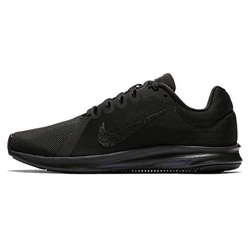Donna Nike black Ginnastica Scarpe 8 Da Basse Downshifter 002 Nero black p64YpT