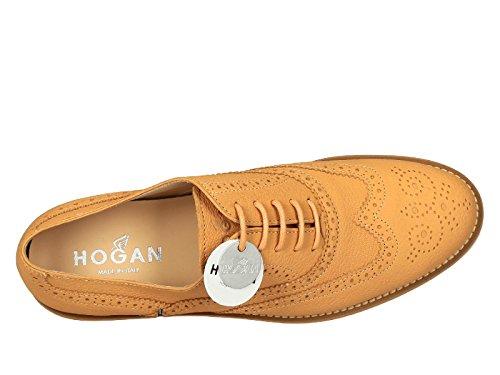 Arancione Pelle Donna Hogan Stringate HXW2590R3207UTG618 pFIZO