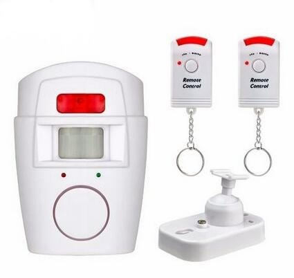 Seefar Wireless Home Security PIR MP Alert Infrared Sensor Anti-theft Motion Detector Alarm System With 2 Remote Controller by Seefar
