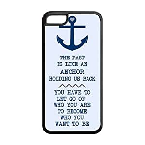 Best Cool Design I Refuse To Sink Anchor iPhone 5C Durable TPU Case Perfect Fit For Cheap IPhone5