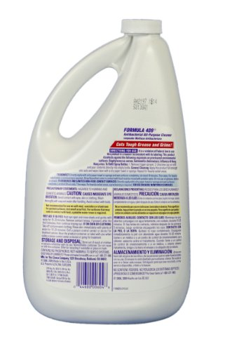 [해외]포뮬라 409 00636 항균 주방 다용도 세정제 소독액, 레귤러, 64oz 리필/Formula 409 00636 Antibacterial Kitchen All Purpose Cleaner Disinfectant, Regular, 64oz Refill