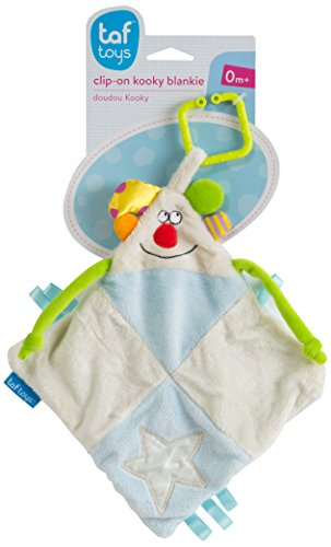 Kooky Blankie Clip-on Stroller Toy