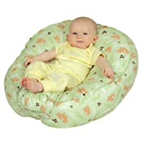 Leachco Podster Sling-Style Infant Seat Lounger Blue Pin Dot