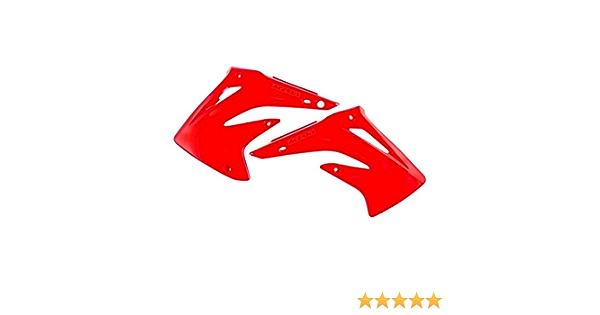 for 03-07 Honda CR85 Acerbis Radiator Shroud Set 00+ Red