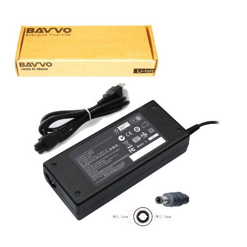 (Bavvo 90W Adapter for Gateway MT6836J, 18.5V 4.9A)