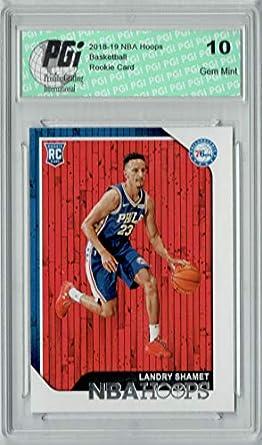Amazon.com  Landry Shamet 2018 NBA Hoops  259 Rookie Card PGI 10 ... 7244fecf2