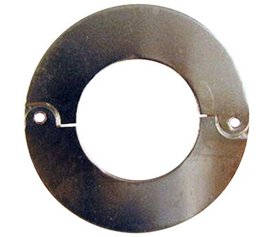 Larsen Supply 03-1563 Chrome Plated, Floor & Ceiling, Split Flange, Fits 2-Inch Iron Pipe, Carded - Quantity 6 LARSEN SUPPLY CO. INC.