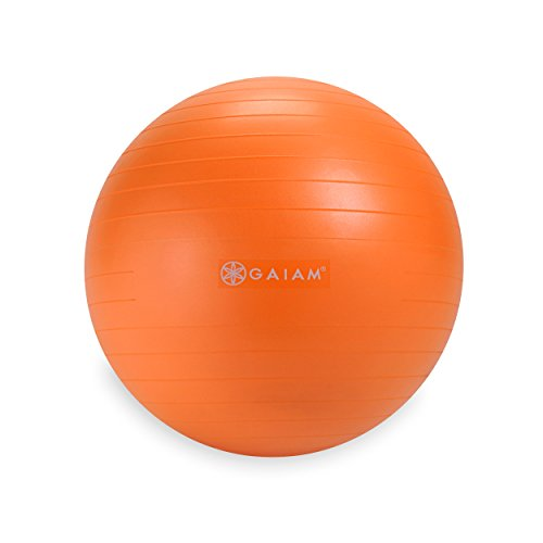 Gaiam Kids Balance Ball, Orange, 45cm