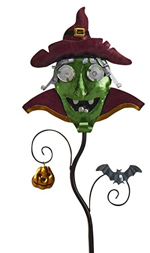 Goblin Guiders - Solar Powered Halloween Decorative Lights - Green Goblin by Original Treasures