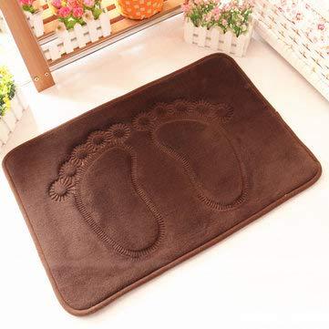 Footprint Carpet Bloody Bath Mat Reading Craft Floor - 1PCs]()