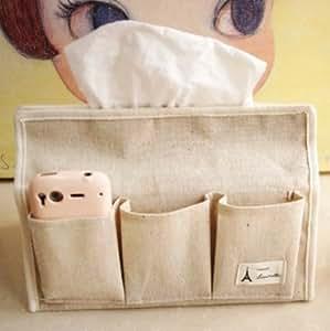 BO @ coreano paño de algodón juego de toallas caja de pañuelos cover larga sección de familia coches con