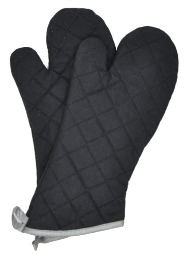 Nouvelle Legende Flame Retardant Quilted Oven Mitts (2-Pack) by Nouvelle Legende