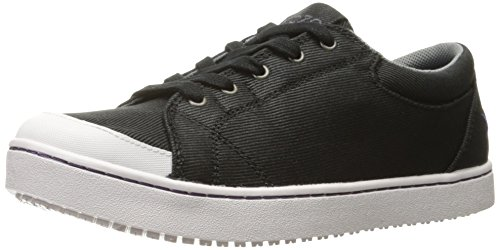 MOZO Women's Maven Food Service Shoe, Black/White, 10 B US by MOZO