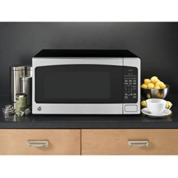 ge jes2051snss 20 cu ft stainless steel countertop microwave