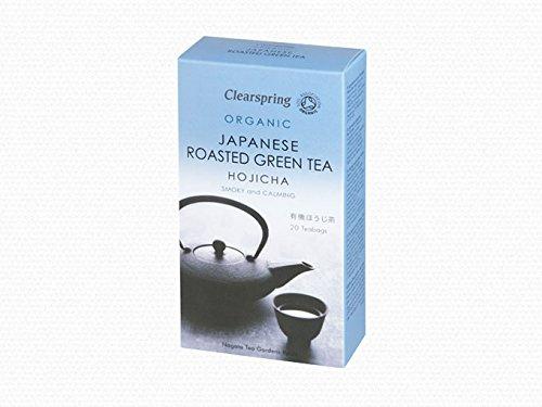 Clearspring Organische Hojicha Japanisch geröstete Grüner Tee 20 Beutel