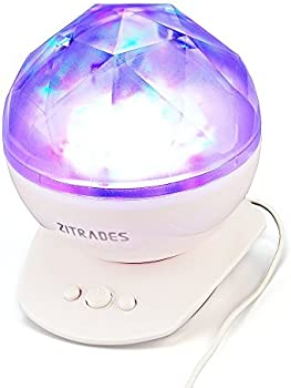 Zitrades Baby Night Light Projector Laser Lights w/ Speakers